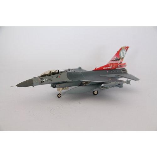 Herpa 1:72 RNLAF F-16A - 322 Squadron , Leeuwarden AB - 75th Anniversary – J-879