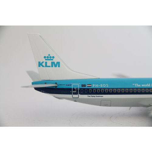 """JC Wings 1:200 KLM  """"The World Is Just a Click Away"""" B737-400"""