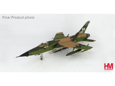 """Hobby Master 1:72 F-105D Thunderchief """"Triple MIG Killer"""" 62-4284, 465th TFS, AFRES, 1967"""