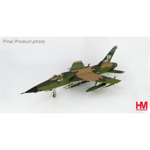"Hobby Master 1:72 F-105D Thunderchief ""Triple MIG Killer"" 62-4284, 465th TFS, AFRES, 1967"