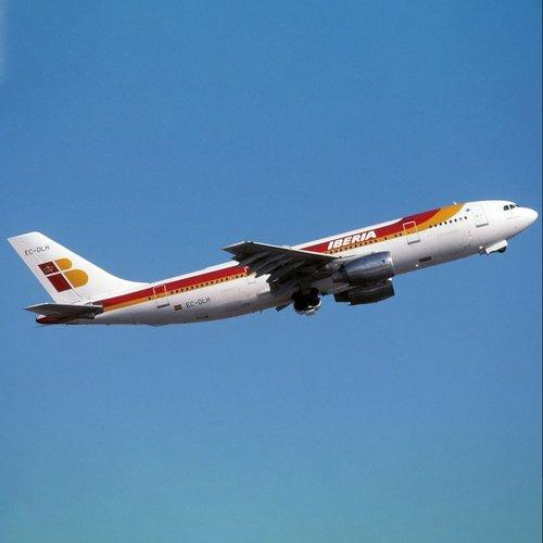 Aviationtag Aviationtag - Airbus A300 - EC-DLH (light red)