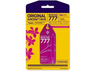 Aviationtag Aviationtag - Boeing 777-200 - HS-TJF (pink)