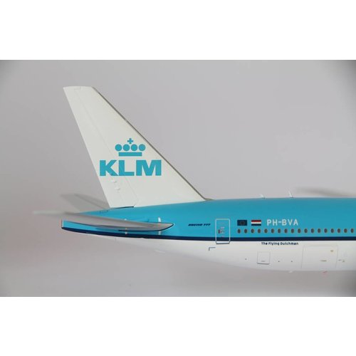 JC Wings 1:200 KLM B777-300 Orange Pride  - Flaps Down