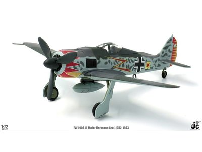 JC Wings 1:72 FW190A (Luftwaffe Major Hermann Graf, JG52, Southern France, 1943)