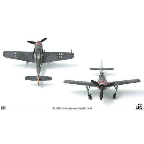JC Wings 1:72 FW190A (Luftwaffe Major Hermann Graf, JG52, Southern France, 1943)