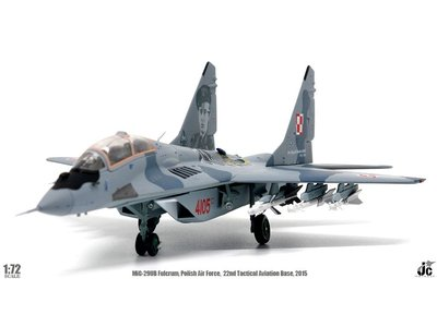 JC Wings 1:72 Mig 29UB Fulcrum (Polish Air Force, 22nd Tactical Aviation Base, May, 2015)