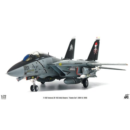 "JC Wings 1:72 F-14B Tomcat VF-103 Jolly Rogers, ""Sante Cat"", CVW-8, USS Enterprise, (CVN-65), 1996"