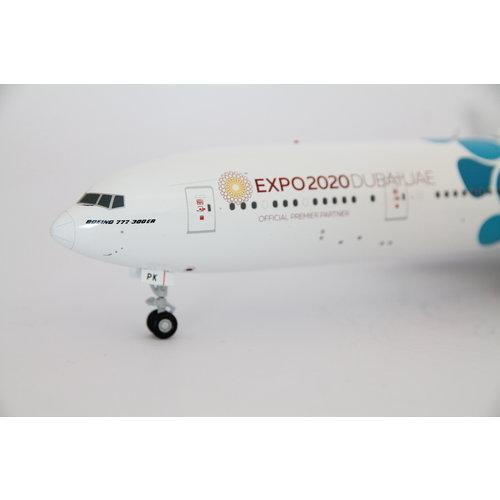 "Gemini Jets 1:200 Emirates ""Blue"" EXPO 2020"" B777-300"