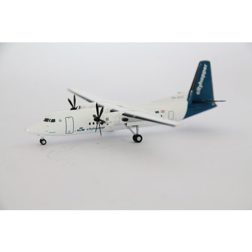 Herpa 1:200 KLM Cityhopper Fokker 50