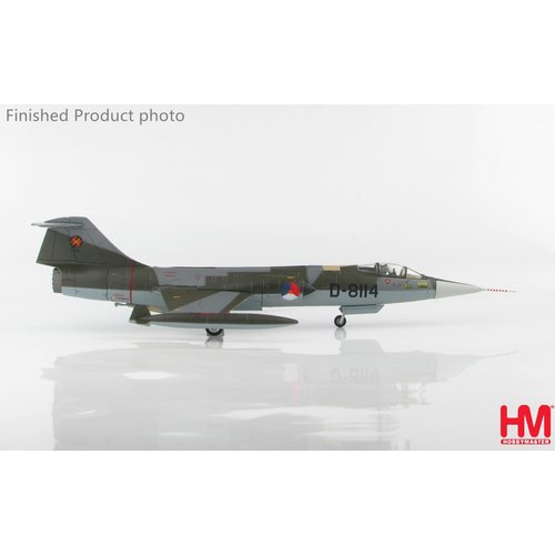 Hobby Master 1:72 Lockheed RNLAF TF-104G KLU, D-8114, Royal Netherlands Air Force