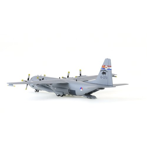 "JFox 1:200 RNLAF Lockheed C-130H-30 Hercules (L-382)  336sqn ""Black Bulls"", ""100 Years of Dutch Military Aviation "", KLu"