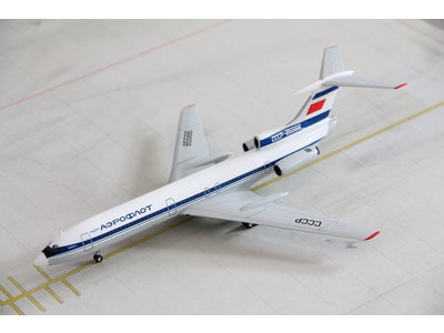Herpa 1:200 Aeroflot Tupolev Tu-154B-2