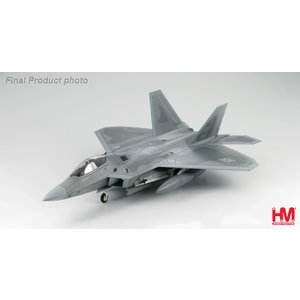 Hobby Master 1:72 F22 Raptor USAF 27th Squadron, Langley Air Force Base Virginia, May 12, 2005