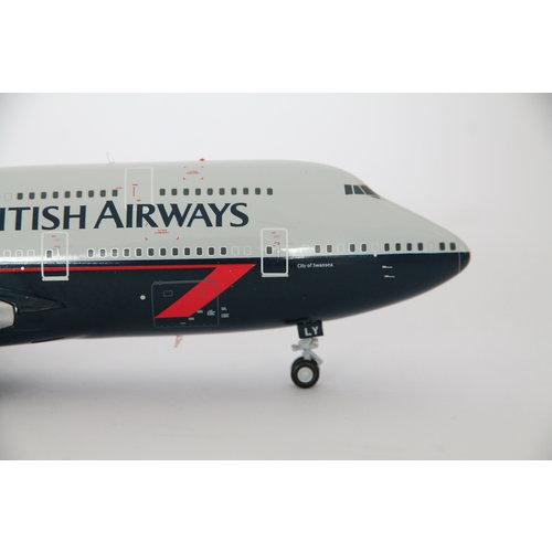 "Gemini Jets 1:200 British Airways ""Landor"" B747-400  - Flaps Down"