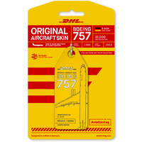 Aviationtag - Boeing 757 – D-ALEH - DHL (yellow)