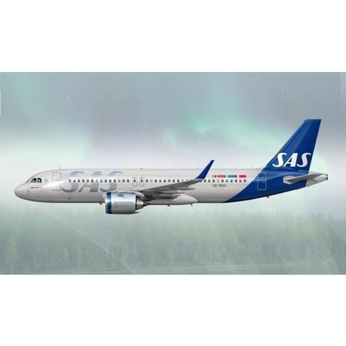 JC Wings 1:200 SAS Scandinavian Airlines A320NEO