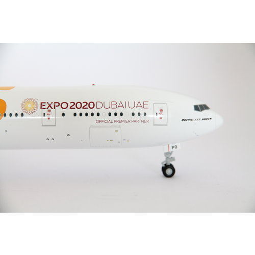 "Gemini Jets 1:200 Emirates ""Orange"" EXPO 2020"" B777-300"