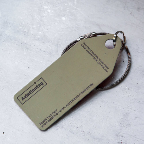 Aviationtag Aviationtag - Airbus A320 – B-2400 - China Eastern Airlines (red- white)