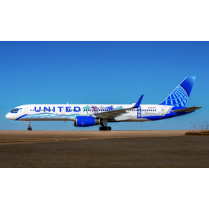 """JC Wings 1:200 United Airlines """"Her Art Here - California"""" B757-200"""