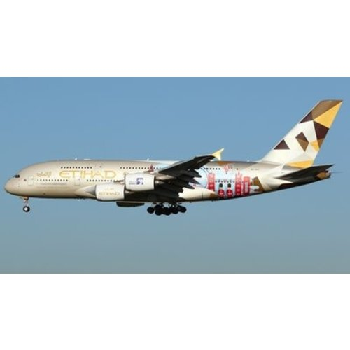 "JC Wings 1:200 Etihad ""Choose the United Kingdom"" A380"
