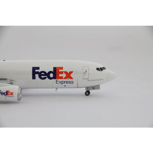 JC Wings 1:200 FedEx B737-800 (SF)