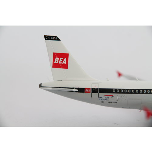 Gemini Jets 1:200 British Airways Retro BEA Livery A319