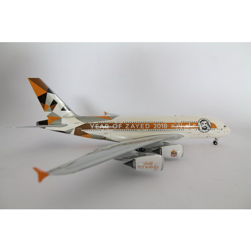 "JC Wings 1:200 Etihad ""Year of Zayed"" A380"