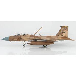 "Hobby Master 1:72 F15D Strike Eagle USAF, ""Desert Flanker Scheme"" 78-0567, 57th Wing, 65th Aggressor Sqn., 2012"