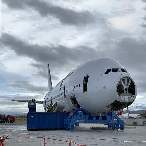 Aviationtag Aviationtag - Airbus A380 – 9V-SKB - Singapore Airlines (white)