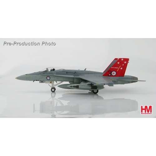 "Hobby Master 1:72 McDonnell Douglas F/A-18A ""A21-35"" ""30 Year Anniversary"" of RAAF F-18 Hornet"