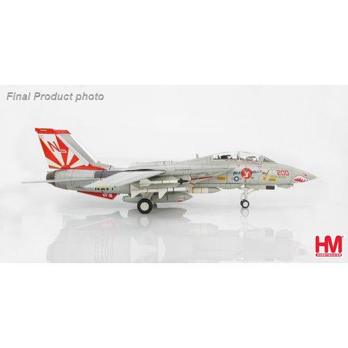 "Hobby Master 1:72 F-14A Tomcat ""Miss Molly"" VF-111 ""Sundowners"", USS Carl Vinson 1989"