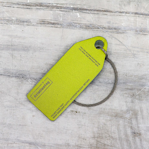 Aviationtag Aviationtag - Airbus A330 - UR-WRQ - Windrose (mint)