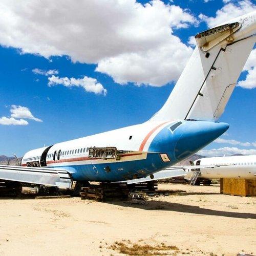 Aviationtag Aviationtag - Douglas DC-9 – N133NK (bare metal)