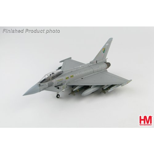 "Hobby Master 1:72 Eurofighter EF-2000 Typhoon Royal Air Force, ZJ927 ""QO-M"", 3 Sqn., RAF, Libya 2011"