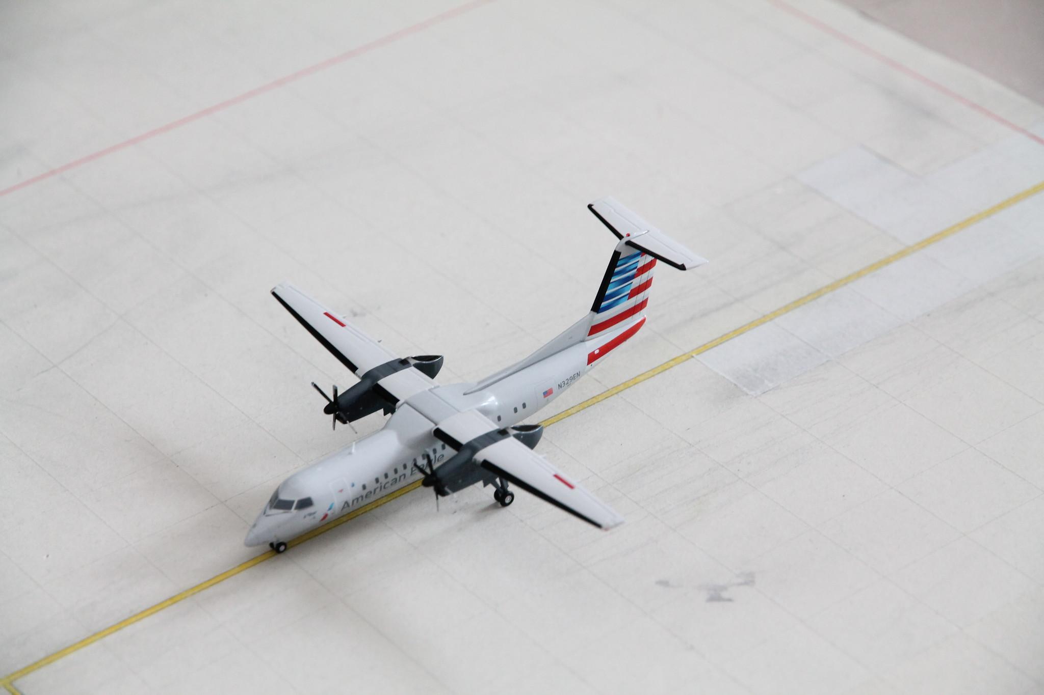 Gemini Jets 1:200 Scale American Eagle Dash 8-300 N329EN G2AAL853 IN STOCK