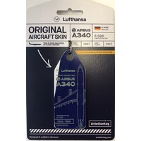 Aviationtag - Airbus A340 - D-AIHR - Lufthansa (with a touch of white)