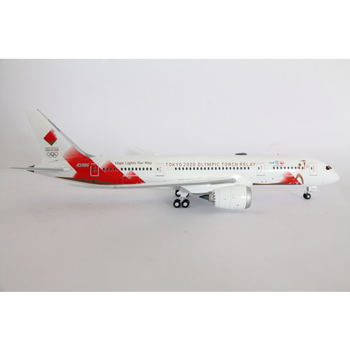 "JC Wings 1:200 Japan Airlines  ""Tokyo 2020 Torch Relay"" B787-8"