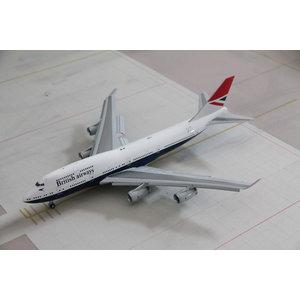 """Gemini Jets 1:200 British Airways """"Negus"""" B747-400 - Flaps Down"""