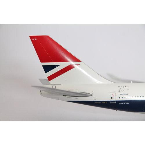 "Gemini Jets 1:200 British Airways ""Negus"" B747-400"