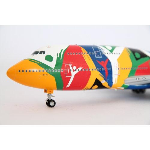 """JC Wings 1:200 South African Airways """"Ndizani"""" B747-300"""