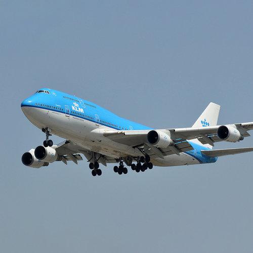 Aviationtag Aviationtag - Boeing 747 - PH-BFF (KLM blue)