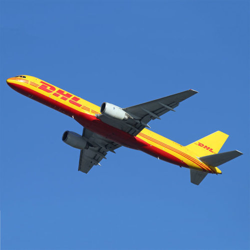 Aviationtag Aviationtag - Boeing 757 – D-ALEK - DHL (yellow)