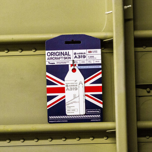 Aviationtag Aviationtag - Airbus A319 – G-EUOH - British Airways (white)