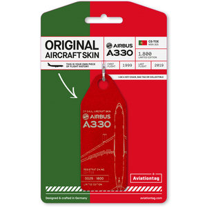Aviationtag Aviationtag - Airbus A330 – CS-TOE - TAP Air Portugal (red)