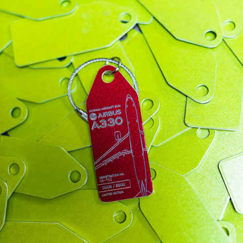 Aviationtag Aviationtag - Airbus A330 – CS-TOI - TAP Air Portugal (light red)