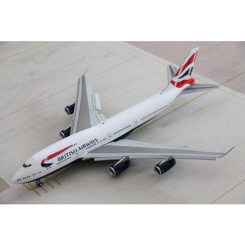 Gemini Jets 1:200 British Airways B747-400 - Flaps Down