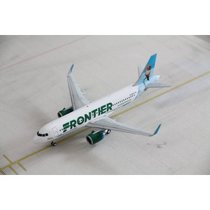 """Gemini Jets 1:200 Frontier Airlines """"Hummingbird"""" A320neo"""