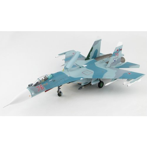 Hobby Master 1:72 Sukhoi Su27 Flanker B Mod. I Red 76, Russian Air Force, 2016