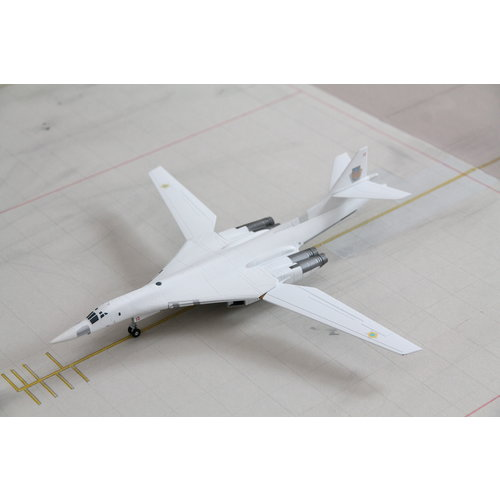 Herpa 1:200 Ukrainian Air Force TU160, Blackjack/White Swan