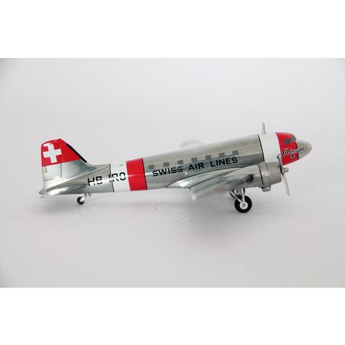 "Herpa 1:200 Swissair ""neutrality color scheme"" Douglas DC-3"